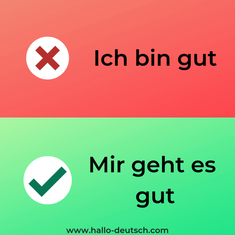 Most Common Mistakes German Learners Make - Hallo Deutsch
