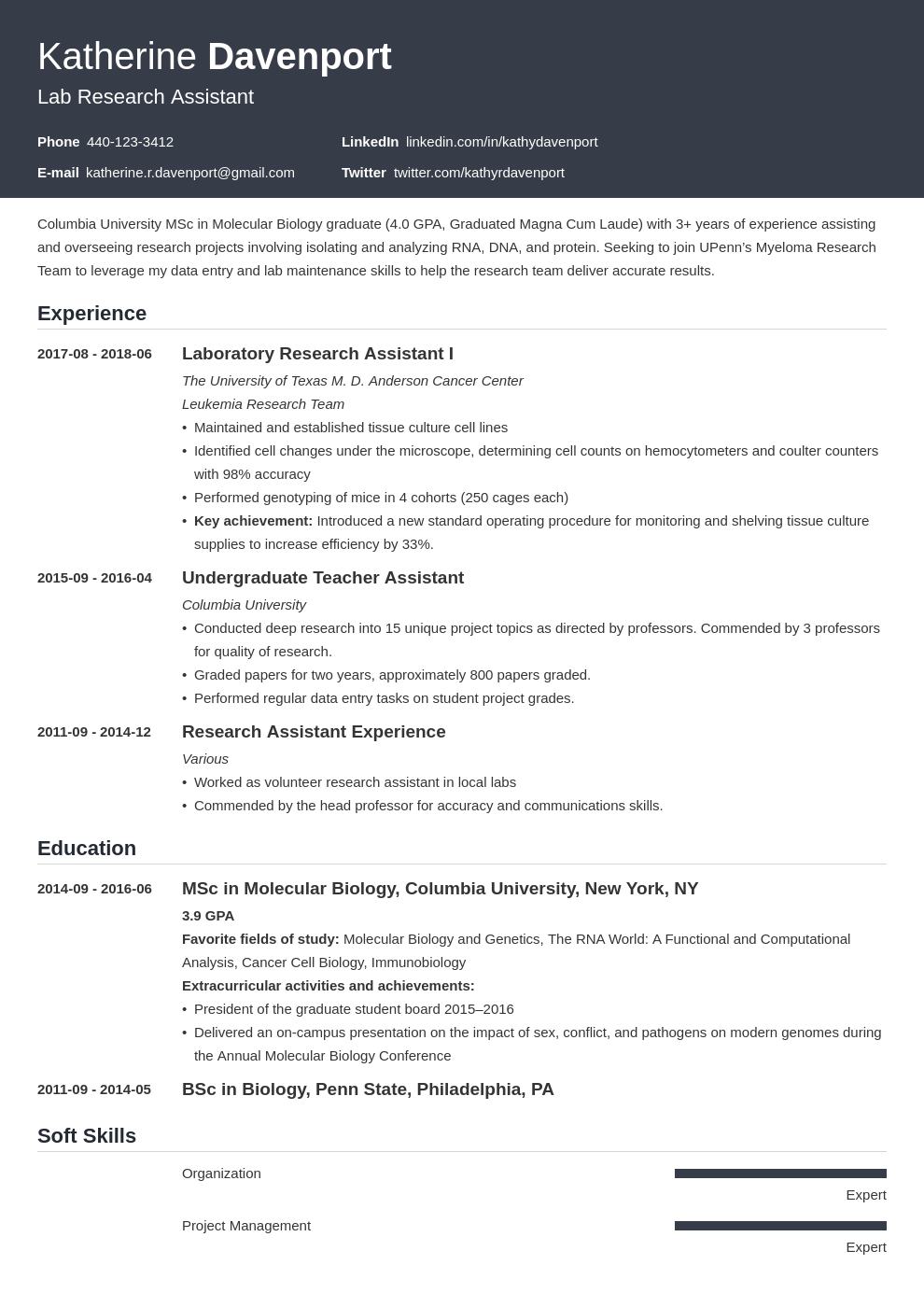 research assistant resume example template influx in 2020