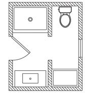Bathroom Layout For 5X7 beautiful 5x7 bathroom layout | bathroom | pinterest | 5x7