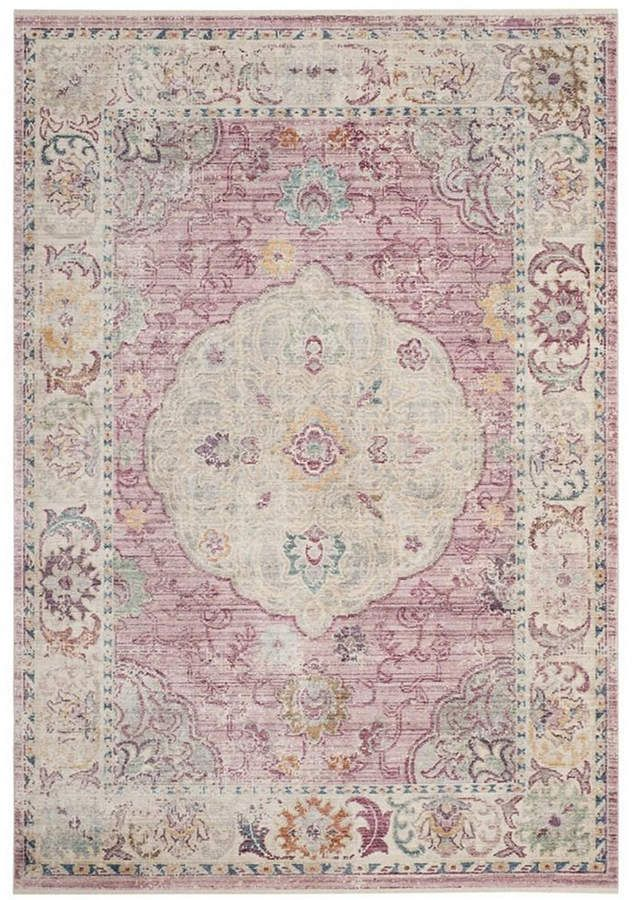 Illusion Rose And Cream 6 X 9 Area Rug In 2019 Products