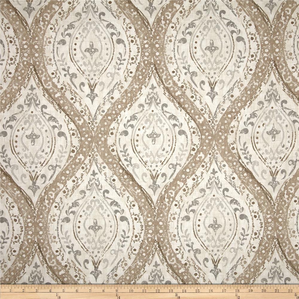 Magnolia Home Arlana Linen From Fabricdotcom Screen Printed On Cotton Duck This Versatile