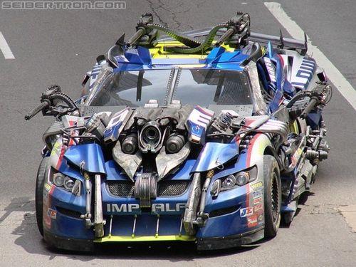 Dale Earnhardt Jr Transformer Car