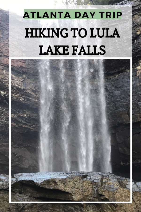 Visiting Atlanta or looking to escape the city? Check out my experience hiking to Lula Lake Falls in Northern Georgia. #georgiahikes #georgiamountains