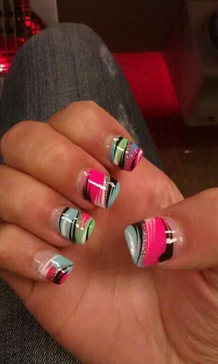 Reminds me of the 90s lol via nailstodiefor