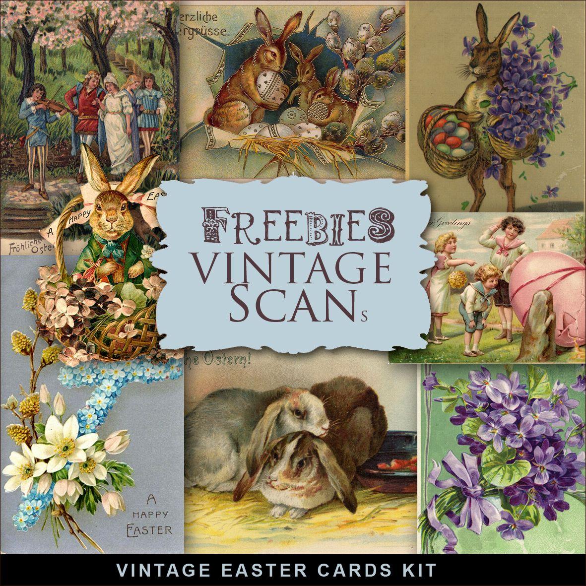 Vintage easter Postcards | Far Far Hill: Freebies Vintage Easter Cards