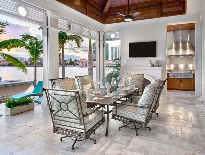Stofft Cooney Architects House Of Turquoise Outdoor Living Space Lanai Design