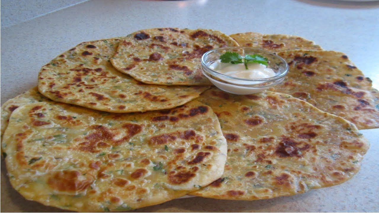 خبز هندي مورق خفيف يحضر في دقائق بمكونات بسيطة جدا Food Breakfast