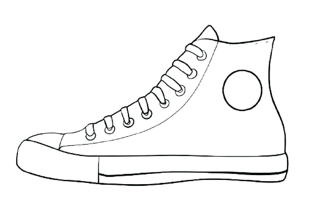 Sneaker Coloring Page Printable Printable Tennis Shoe Coloring Pages Sneaker Coloring Page Shoes Coloring Page Th Pete The Cat Shoes Shoe Template Pete The Cat