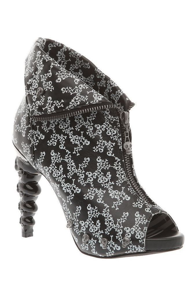 TOO FAST THICK HEADED DITSY BOOTIE HEELS WOMEN US SIZES #TOOFAST #Heels