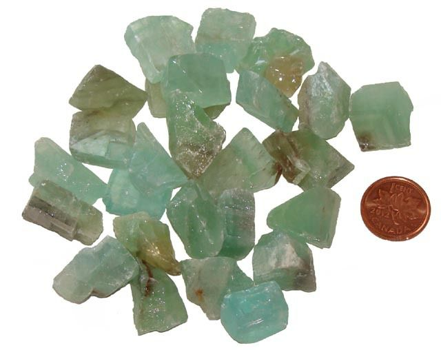 The Metaphysical Meaning of Green Calcite - Stones For Sale