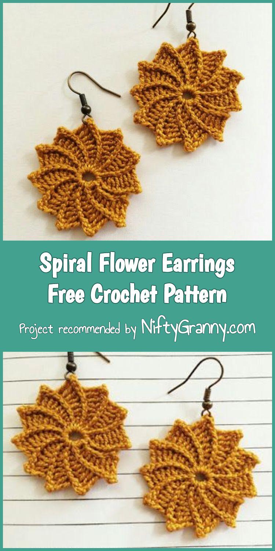 3 Easy Stunning Crochet Earrings Free Patterns Crochet