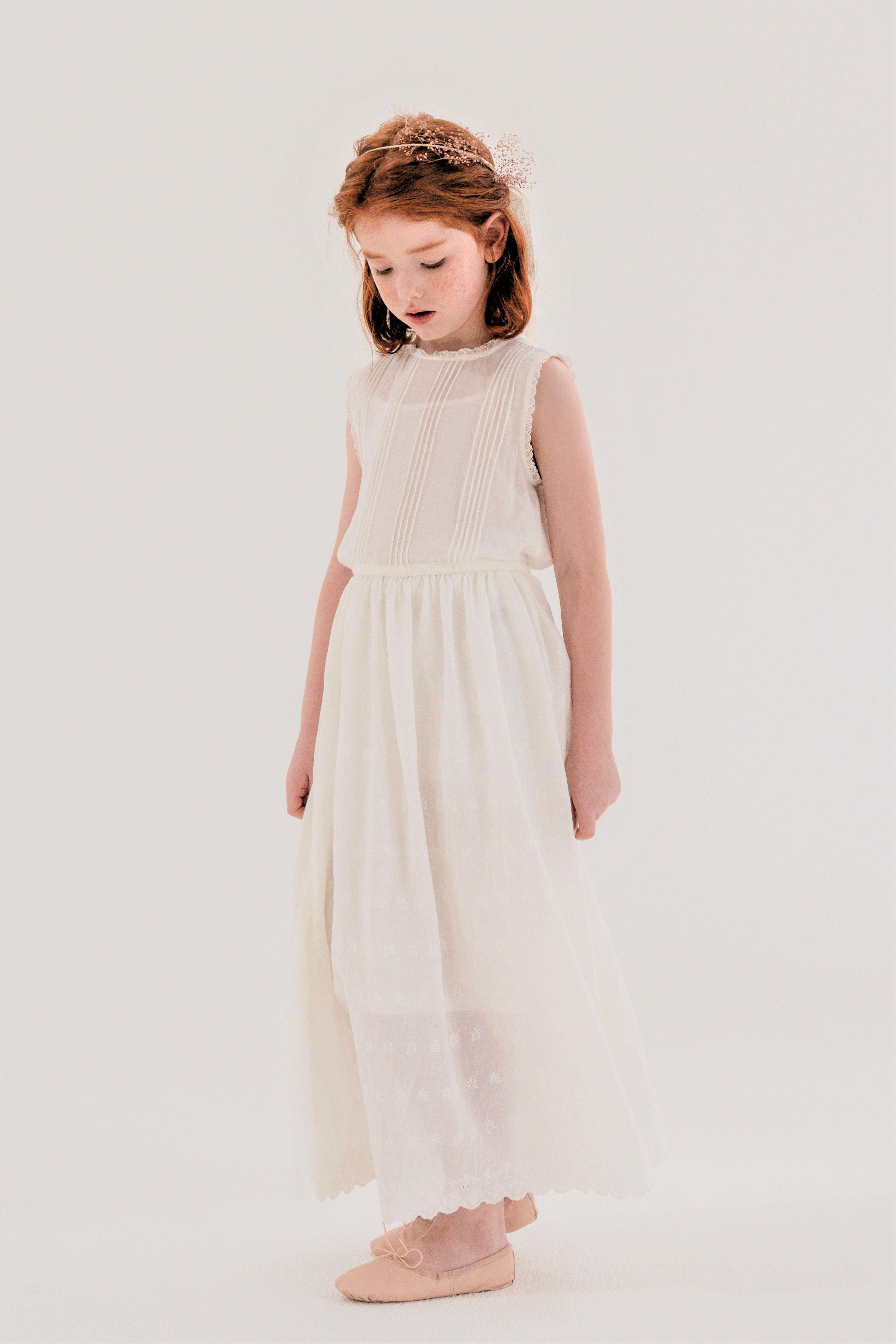 Flower Girl White Dress Louisiella Girls White Dress Dresses Little Girl Outfits [ 4506 x 3004 Pixel ]