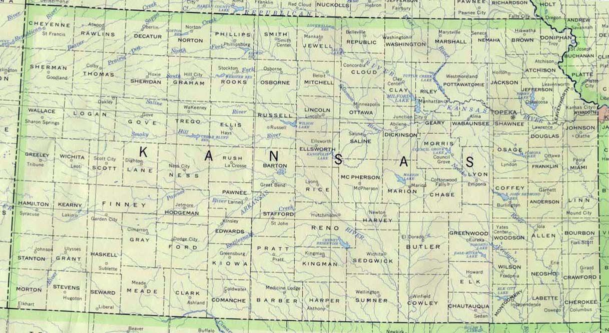 Kansas map | Base Kansas Map | Lands: USA | Kansas map, County map on akron county map, kansas state bell, kansas state hospital, kansas state restaurants, greeley county kansas land map, kansas missouri county map, kansas state halftime, kansas state police, kansas map by county, kansas state population 2015, kansas state resources, kansas state representative districts, brown county kansas map, kansas map cities towns, kansas state fish, kansas state band, kansas state government, kansas section map, kansas state library,