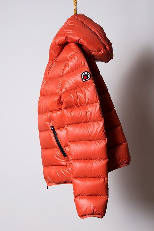 b47e9c8e585 piumino orange, light down jacket Goose Feel | Oh Those Beautiful ...