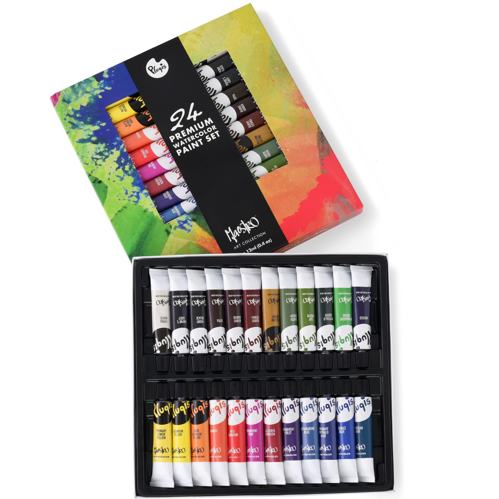 Product Description Pluqis Watercolor Paint Sets Are Known To