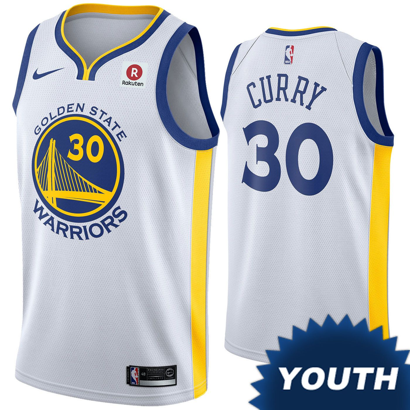 pretty nice 12b6a eb181 Golden State Warriors Nike Dri-FIT Youth 'The Town' Klay ...