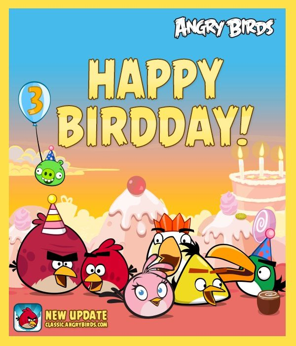 My Son's Angry Birds Birthday