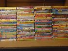 Wholesale Lot Of 100 Assorted KIdsCartoonsFamily DVDsDVDs MoviesT.V. Shows.