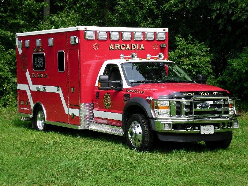 Arcadia Fire Department Ambulance Ford F-450