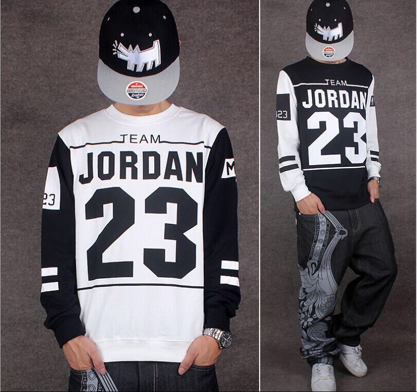 3145c3a5d Aliexpress.com : Buy 2016 Men's Long Sleeve Jordan Shirts 23 Printed Hip  Hop Tee Shirts Man Baseball t shirt Dance Camisa Masculina from Reliable  shirt .