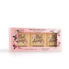 Birthday Presents LOCCITANE RIFLE PAPER CO BAR SOAP TRIO Free Panty 28 Shipping