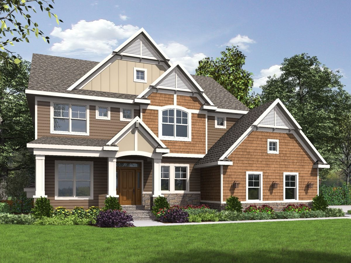 Plan 73360HS: Exclusive Storybook Craftsman House Plan with Side ...