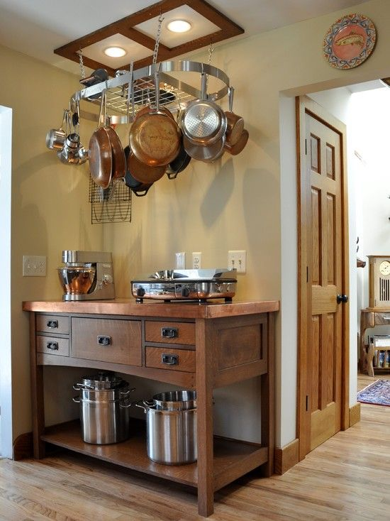 How To Choose The Right Rack For Hanging Pots And Pans Kitchen