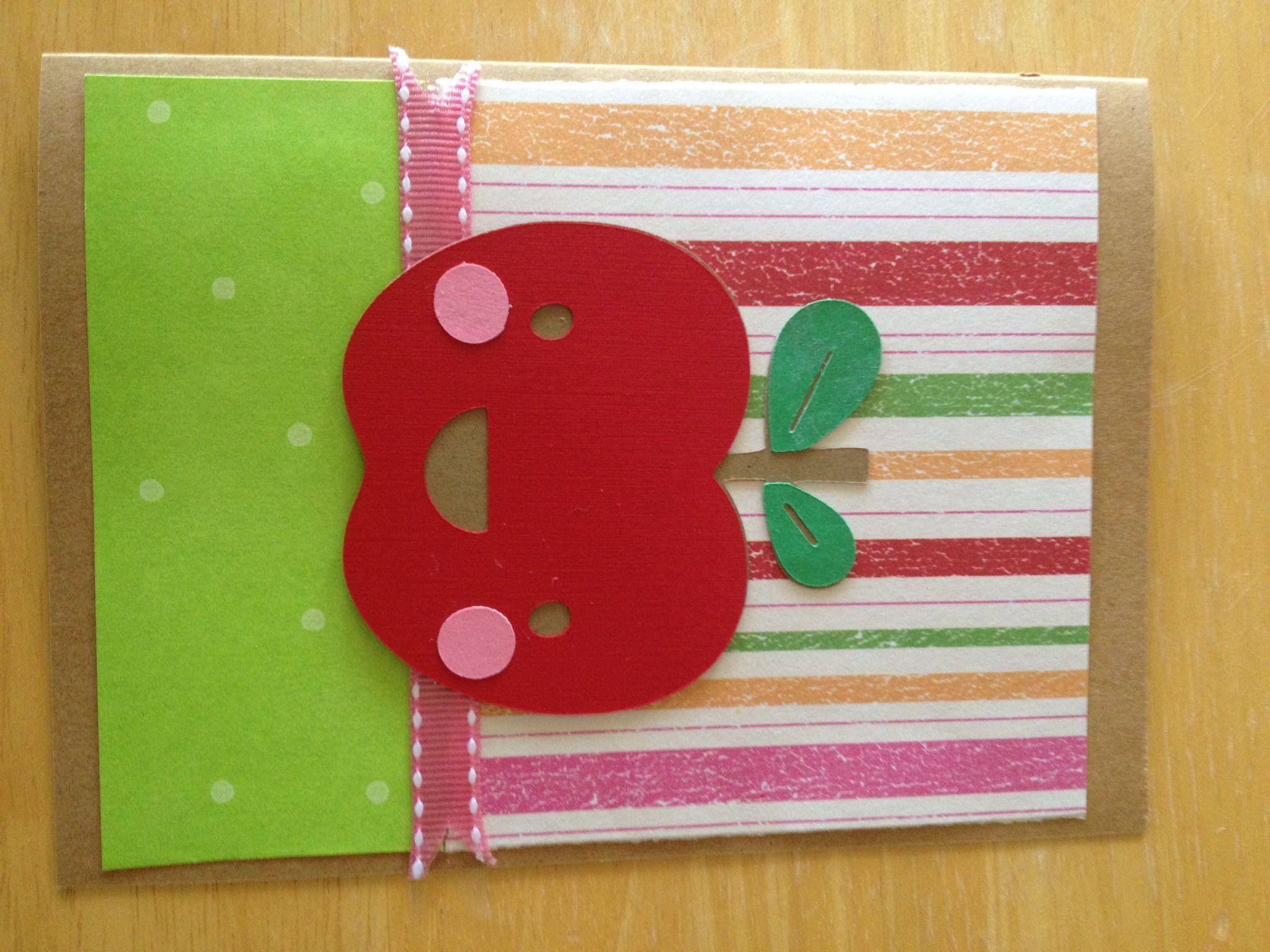 teacher card  paper crafts cards crafts