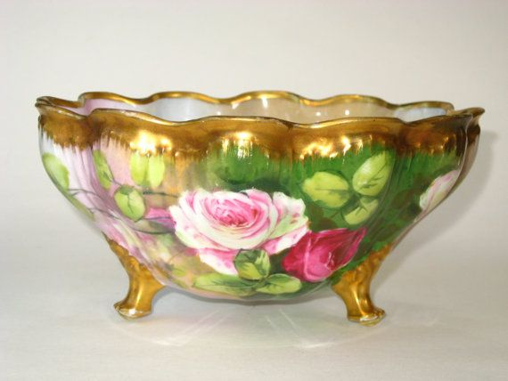 Stunning Antique Haviland Limoges Porcelain by QualityCollection