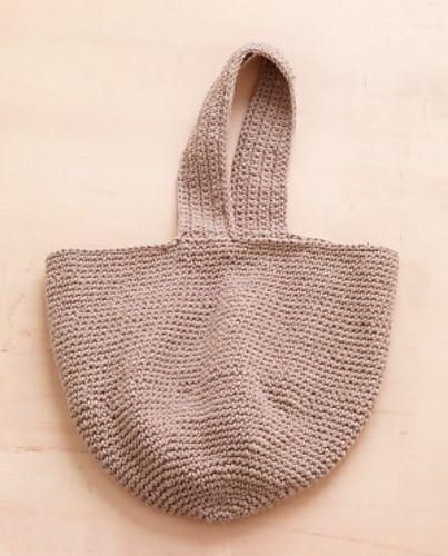 Crochet Bucket Bag pattern by TOFT