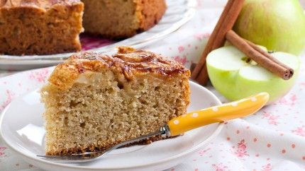 كيكة التفاح بالقرفة للرجيم Recipe Apple Cake Recipes Pecan Coffee Cake Coffee Cake