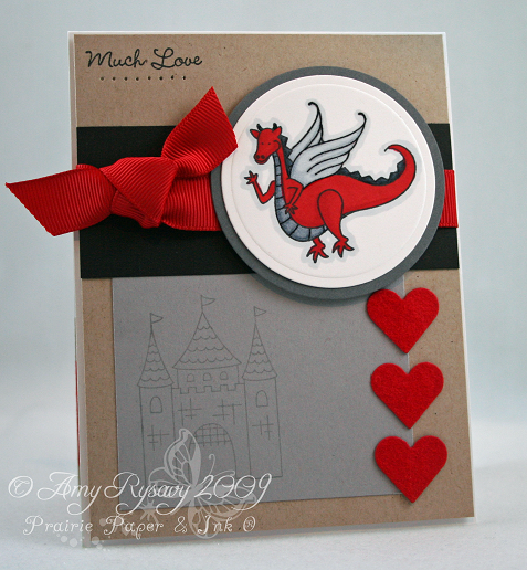 Homemade dragon valentine card Hearts VD – Dragon Valentine Cards