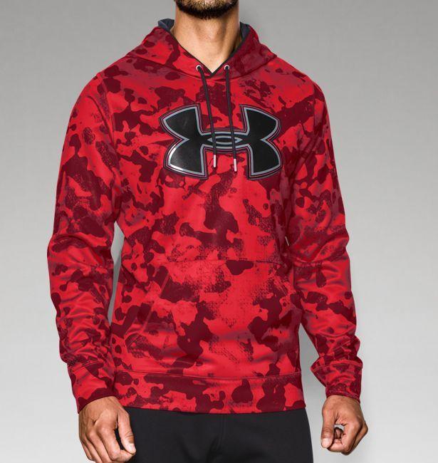Men's UA Storm Armour® Fleece Printed Big Logo Hoodie | Under Armour US