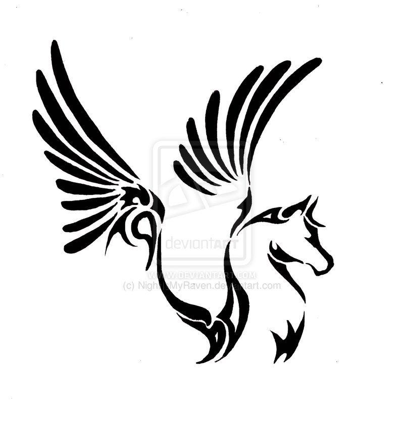 Pegasus Tribal By NightIsMyRaven On DeviantART More