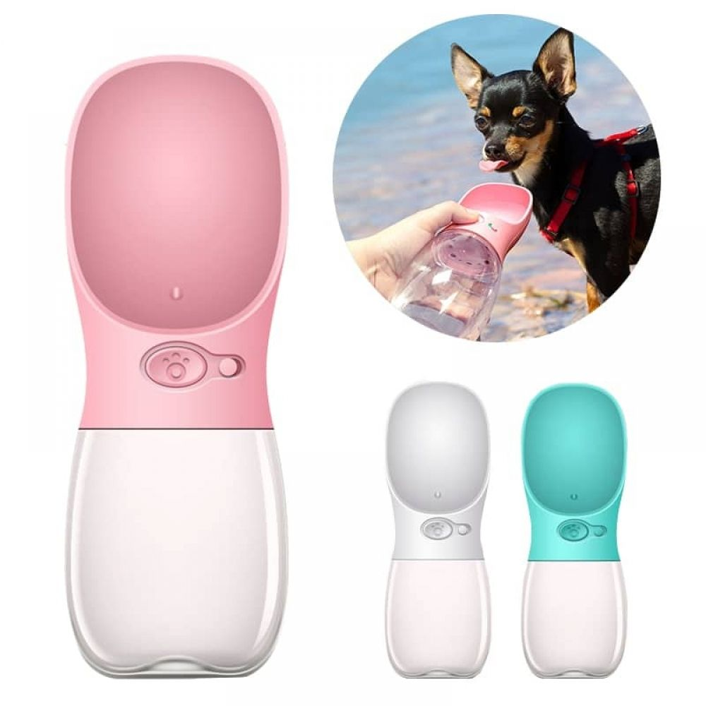 Dog feeding water bottles for outdoor use pet water