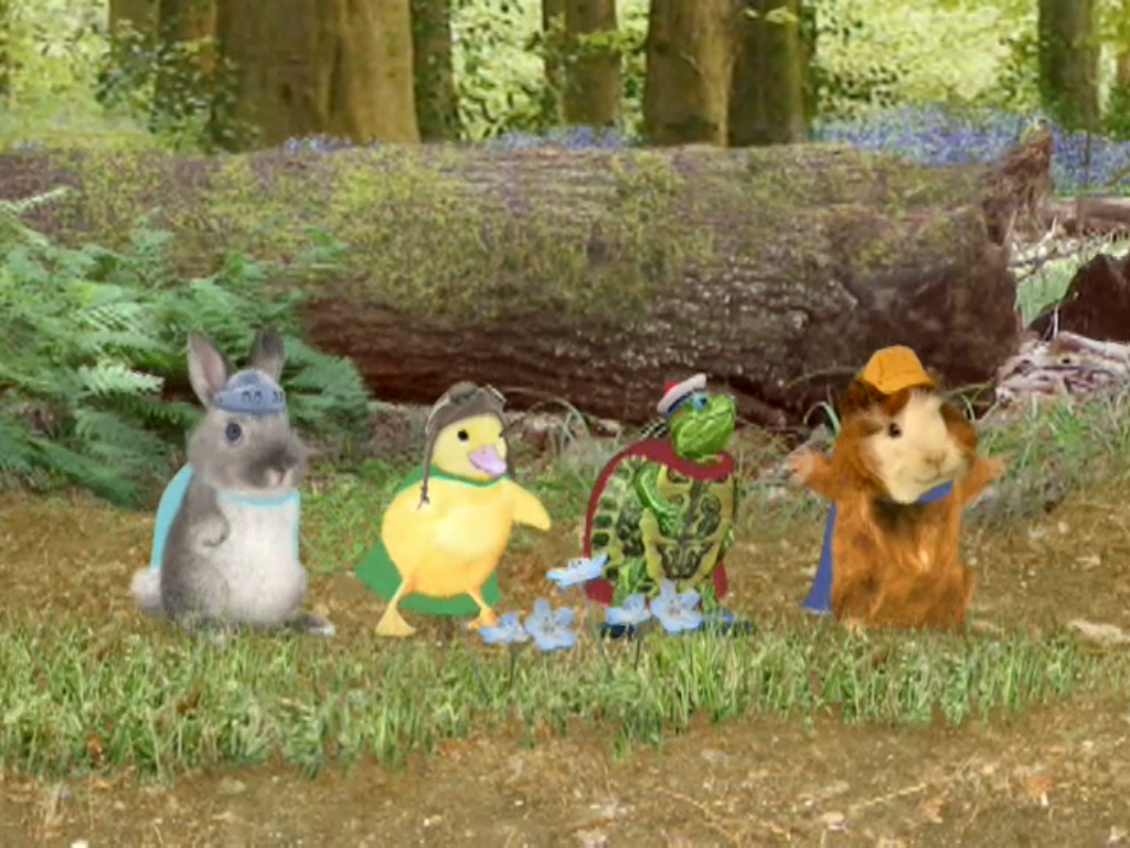 Wonder Pets And Special Guest Ollie The Bunny Walking Deep In The Woodlands In 2020 Wonder Pets Pets Special Guest