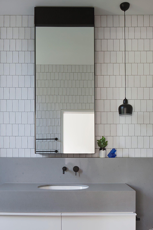 Elsternwick House Bathroom Mirrors