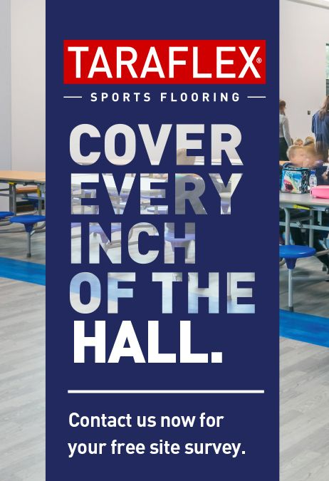 Cover every inch of the hall with our Taraflex® Multi-Use flooring - the ideal solution for #sports and #multipurpose halls! Contact us now for a FREE site survey!