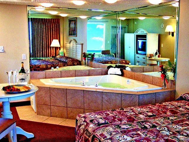 Whirlpool Tub In Suite At Legacy By The Sea Panama City Panama Beachfront Hotels Panama City Beach