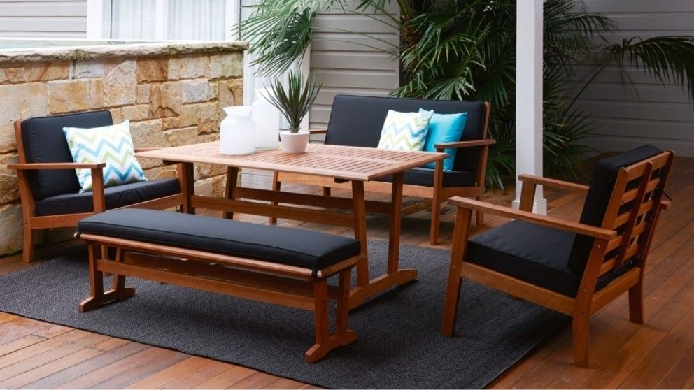 New Jersey 5 Piece Outdoor Lounge/Dining Setting - New Jersey 5 Piece Outdoor Lounge/Dining Setting Vera's House