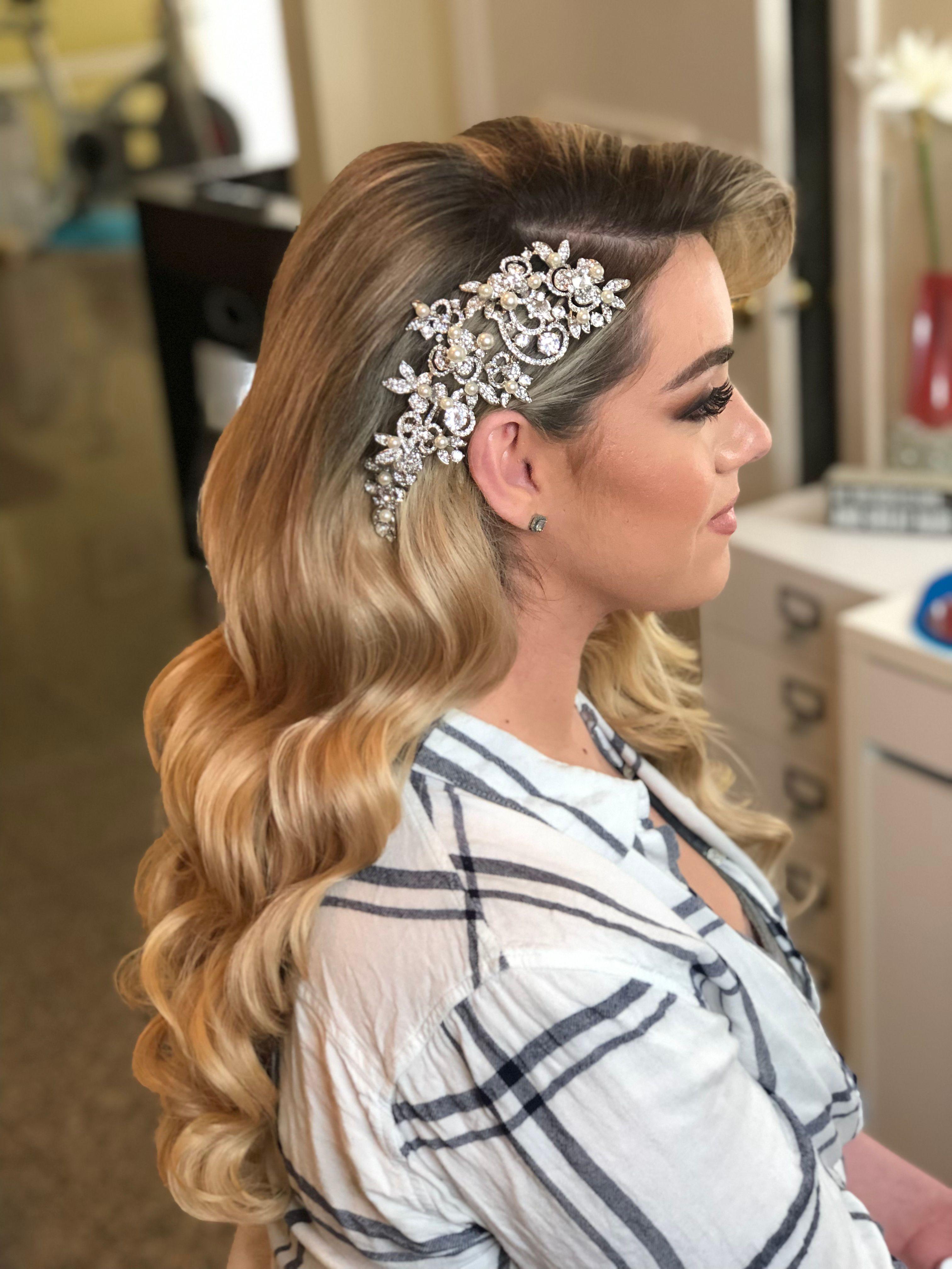 brooch, crystal headpiece, pearl headpiece, bridal headpiece