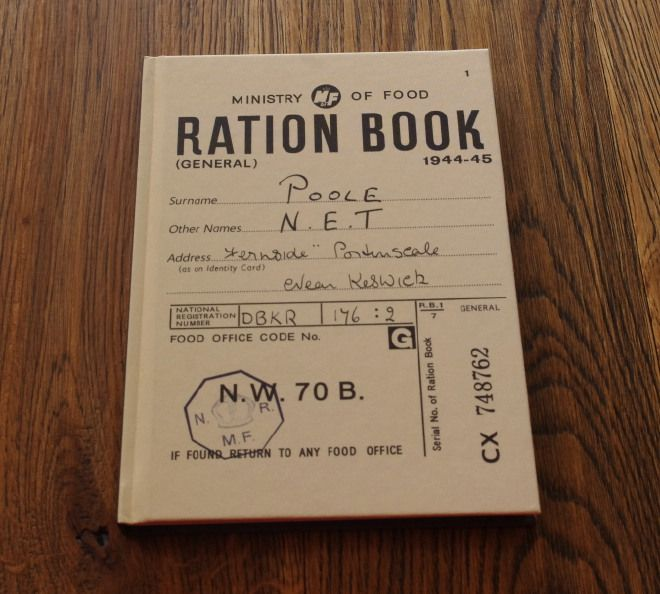 "Notebook Tascabile ""Ration Book"" A5"