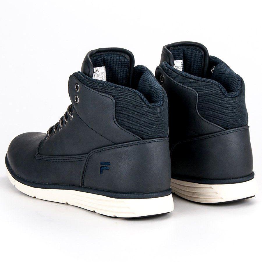 Trekkingowe Meskie Fila Niebieskie Fila Lance Mid 1010146 20y Fila Shoes Sneakers