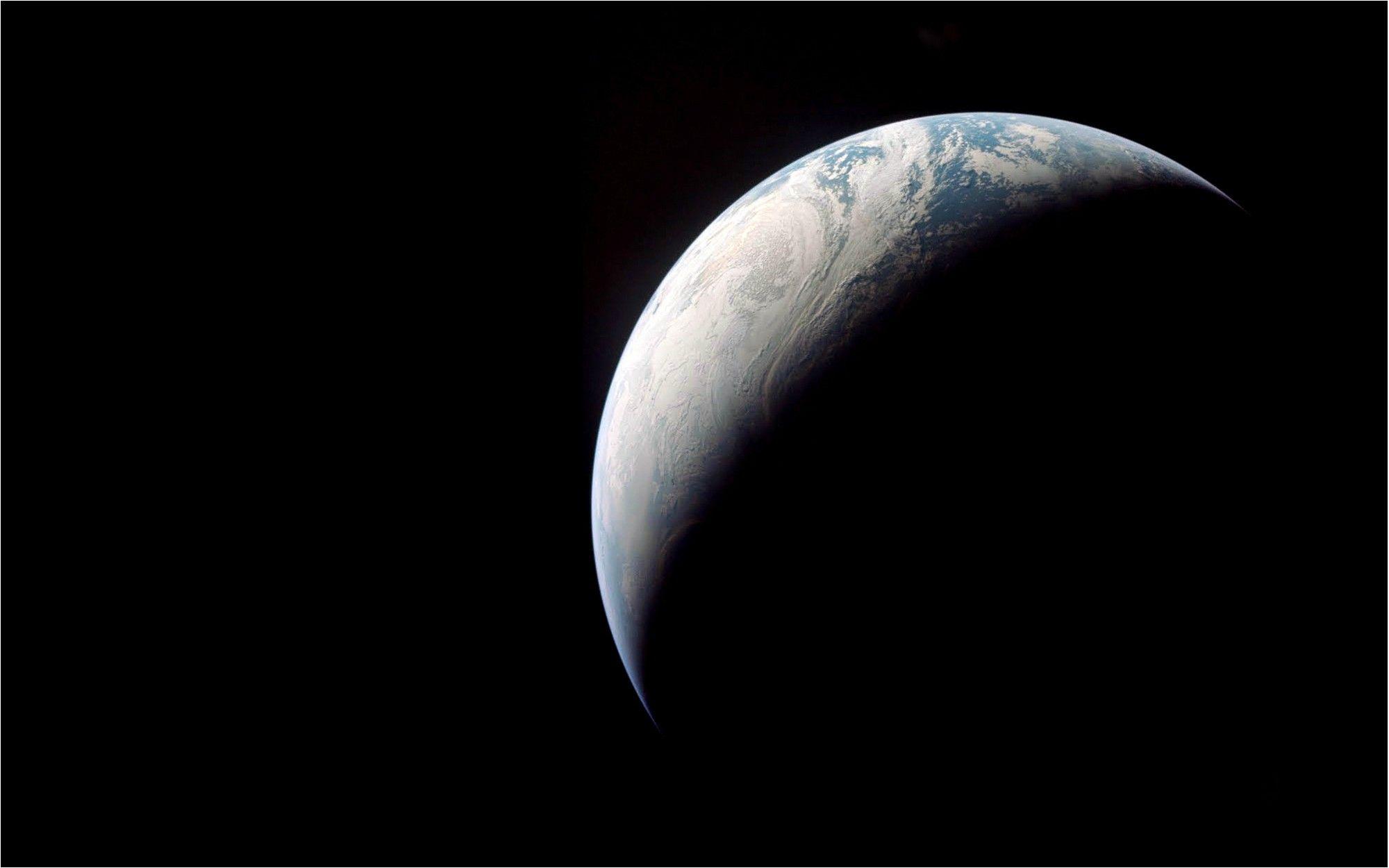Earth, from Apollo 4