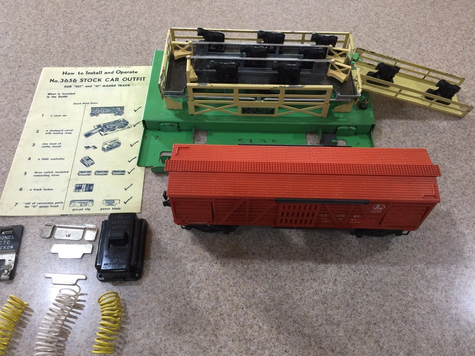 Lionel cattle car wiring wiring info lionel cattle car wiring images gallery cheapraybanclubmaster Gallery