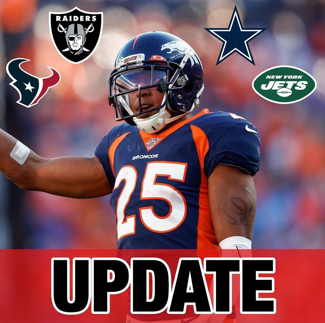 The Raiders Cowboys Texans And Jets Have Expressed Interest In Pending Free Agent Cb Chris Harris Jr Per Troy Renck Breakingnews Update Nfl News En 2020