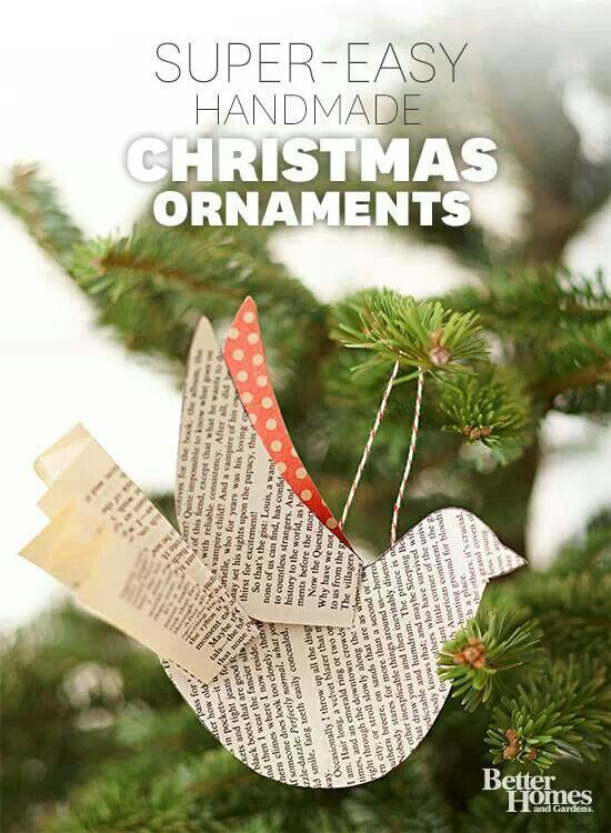 the office christmas ornaments. Use Our Pattern To Create A Flock Of Beautiful Paper-bird Ornaments. More Handmade Christmas Ornaments: Made It Yourself Gifts Fashion The Office Ornaments