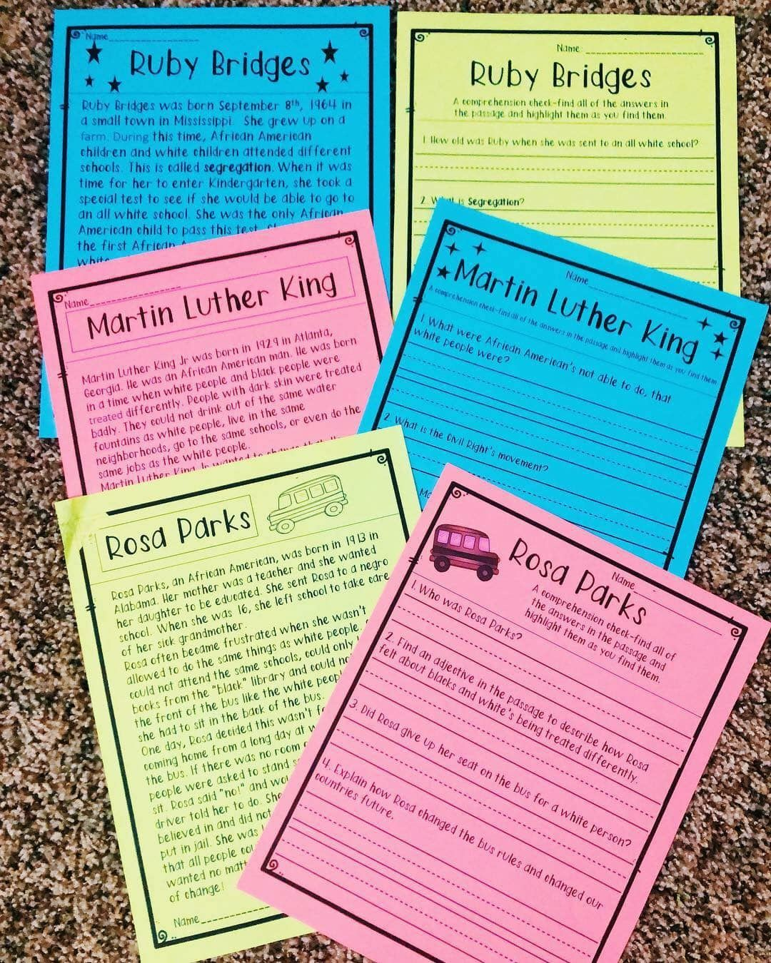 This Pack Is For Emergent Readers And Can Be