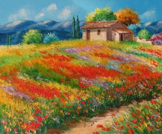 Amazing landscape paintings bohemia pinterest for Amazing paintings pics