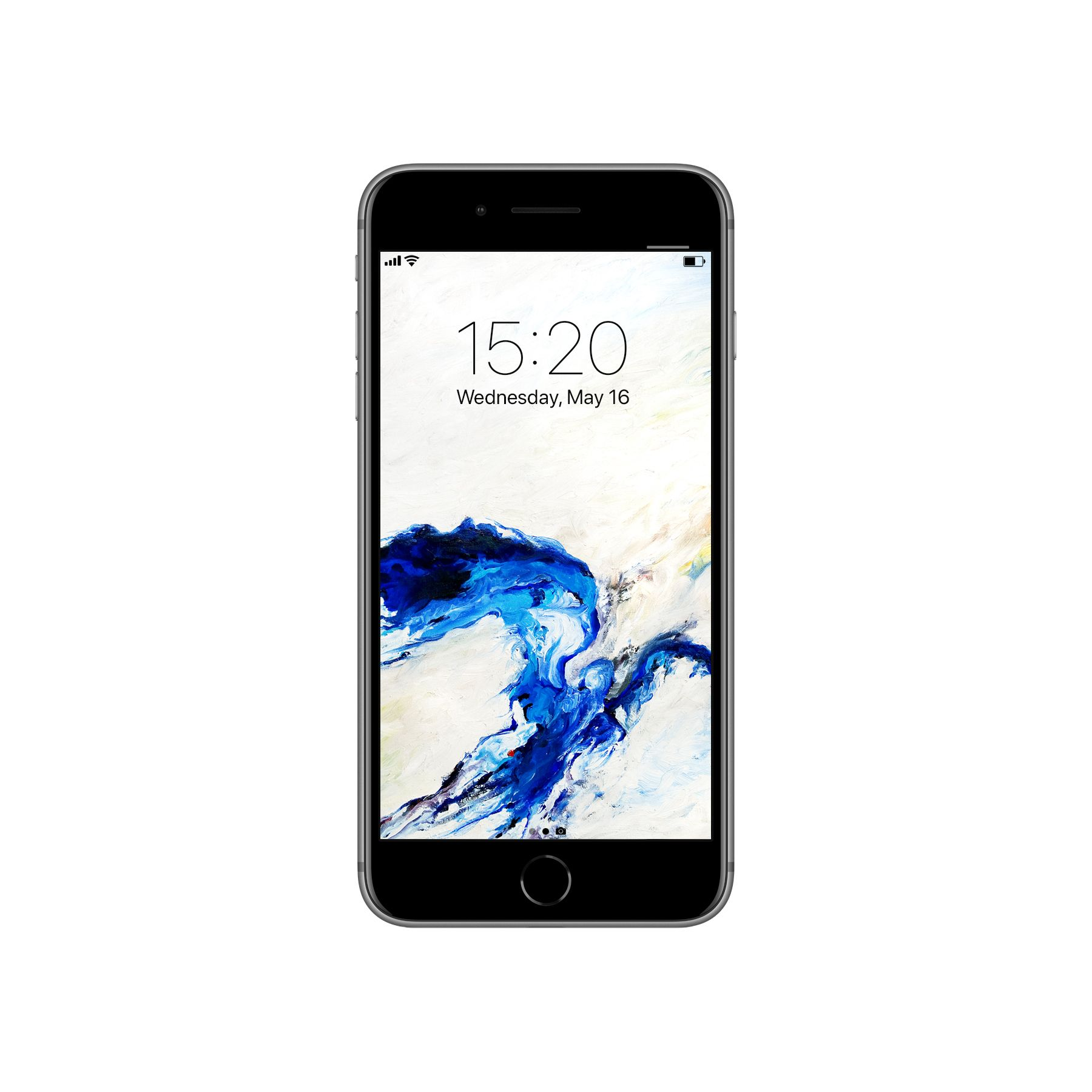 Abstract Painting Wallpaper For IPhone 7 And